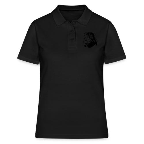 English Bulldog - negative - Women's Polo Shirt