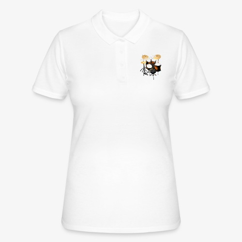 Drummer Drums Schlagzeug Groove It Godigart Drums - Frauen Polo Shirt
