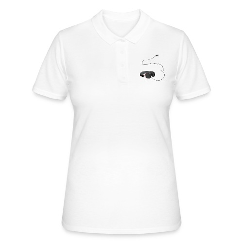 Tee shirt manches longues casque soundtrack - Polo Femme