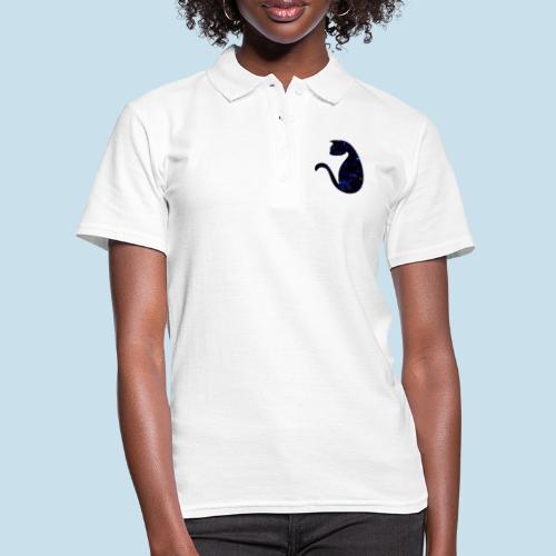 Universums Katze - Frauen Polo Shirt
