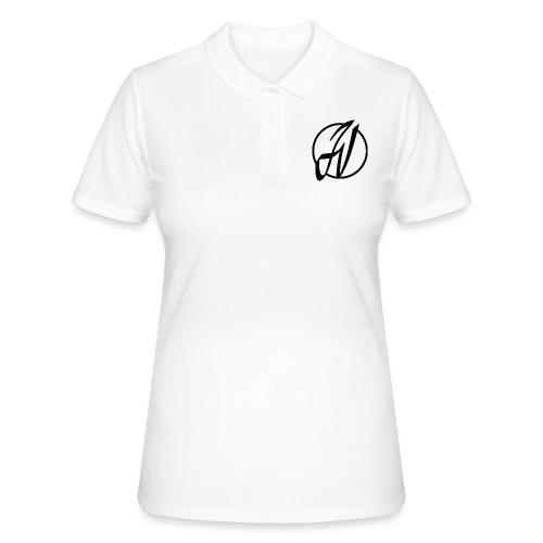 JV Guitars - logo noir - Women's Polo Shirt