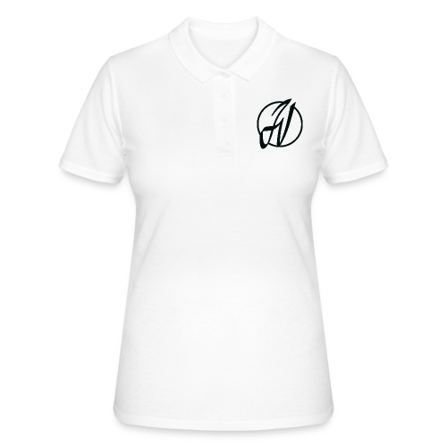 JV Guitars - logo noir - Women's Polo Shirt