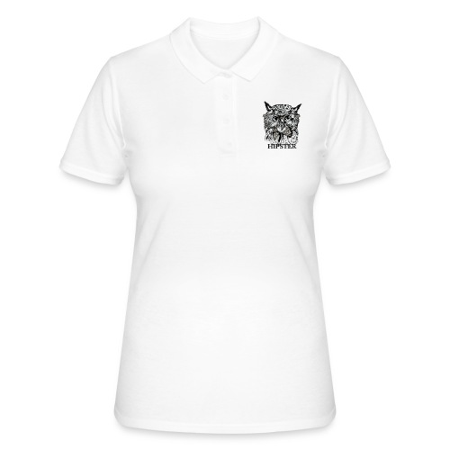 Hibou Hipster - Women's Polo Shirt