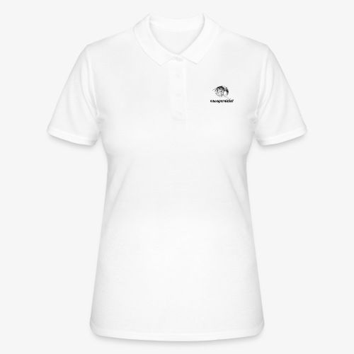 Vague Wave Thinkpornichet by DesignTouch - Women's Polo Shirt