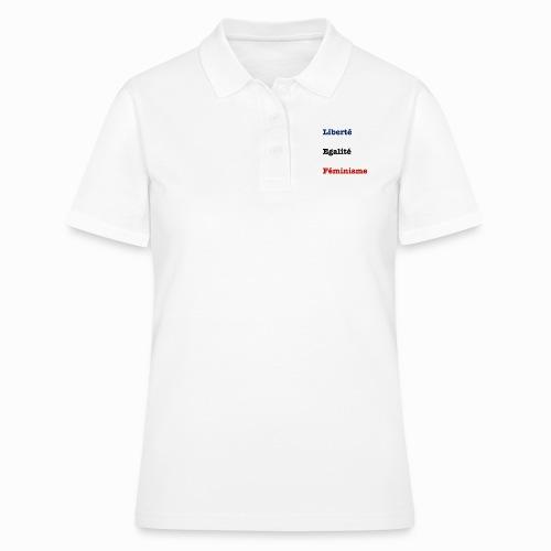 liberte egalite feminisme - Women's Polo Shirt