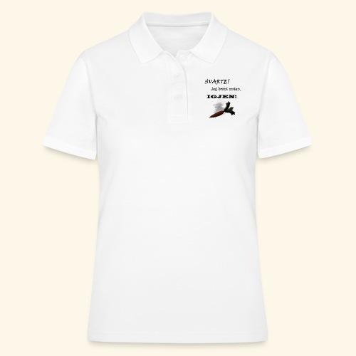 Jeg Brant Maten - Poloskjorte for kvinner