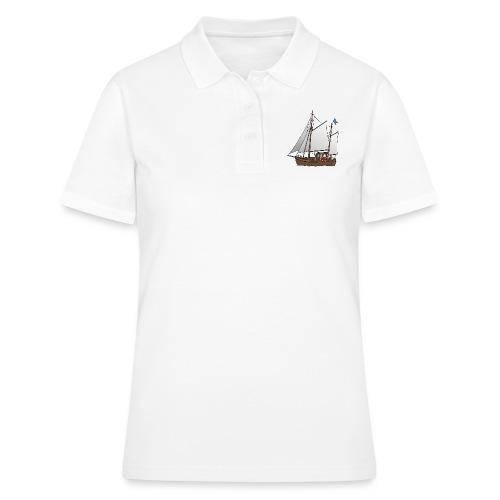 Segelboot Kutter - Frauen Polo Shirt