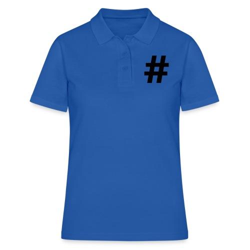 #Hashtag - Women's Polo Shirt