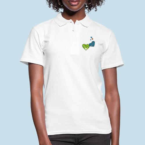 Herzchen - Frauen Polo Shirt