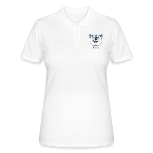 T-shirt bear crayonné Tee shirts - Women's Polo Shirt