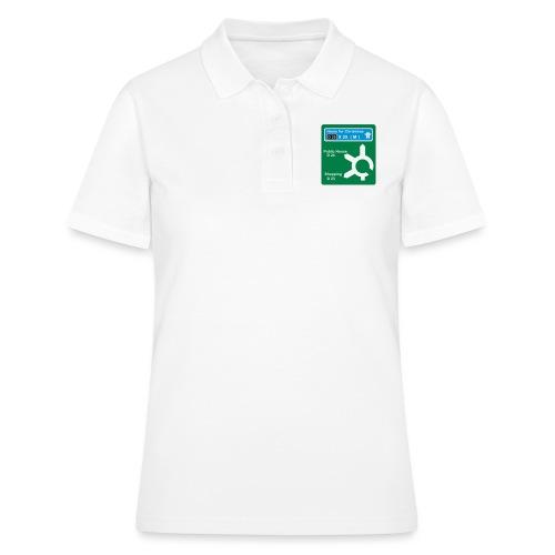 HOME_FOR_CHRISTMAS_SIGN - Women's Polo Shirt
