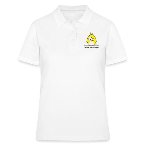 Poussin, Ceci n'est pas un Nugget - Women's Polo Shirt