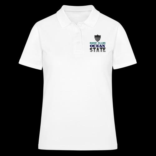rhode island ocean state - Women's Polo Shirt