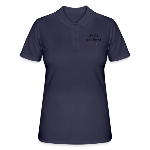 Aim for your Dreams - Women's Polo Shirt