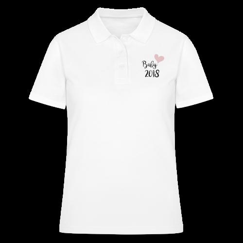 Baby 2018 - Frauen Polo Shirt