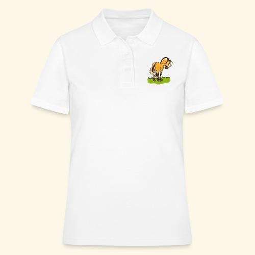 Freundliches Fjordpferd (Ohne Text) - Women's Polo Shirt