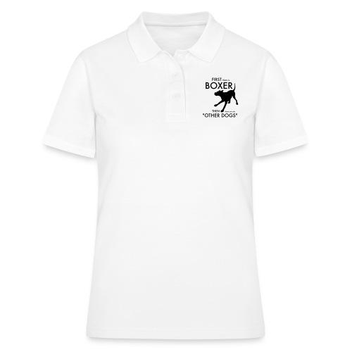 Bella Boxer Dog - Women's Polo Shirt