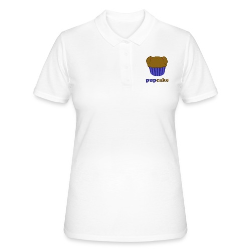pupcake blauw - Women's Polo Shirt