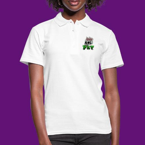 Skull and wormes - Women's Polo Shirt