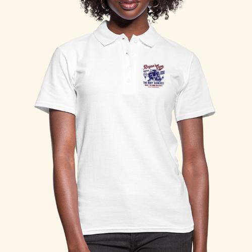 Horror Film T Shirt Design Exorcise in Regan's Gym - Frauen Polo Shirt