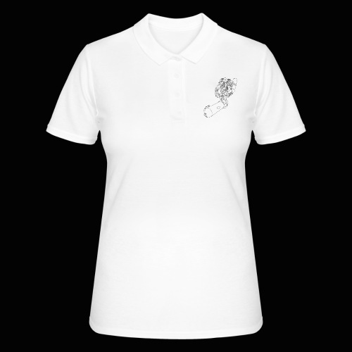 scootertaucher schwarz - Frauen Polo Shirt