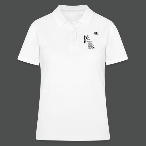 Eat Ride Sleep RepEAT - Women's Polo Shirt