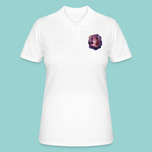 Artsy horns - Frauen Polo Shirt