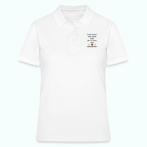 bukowski - Frauen Polo Shirt