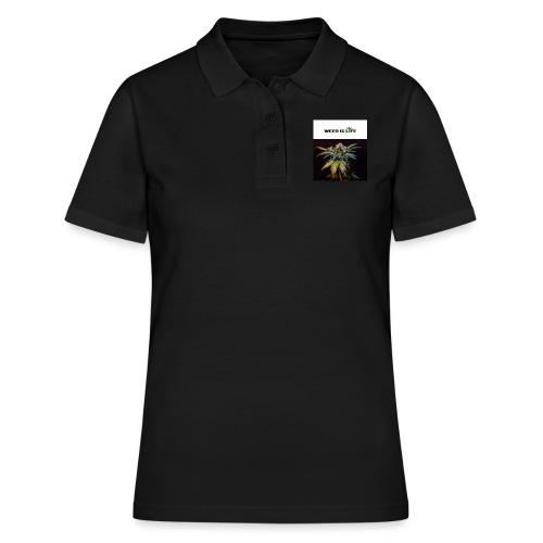 WEED IS LIFE - Frauen Polo Shirt