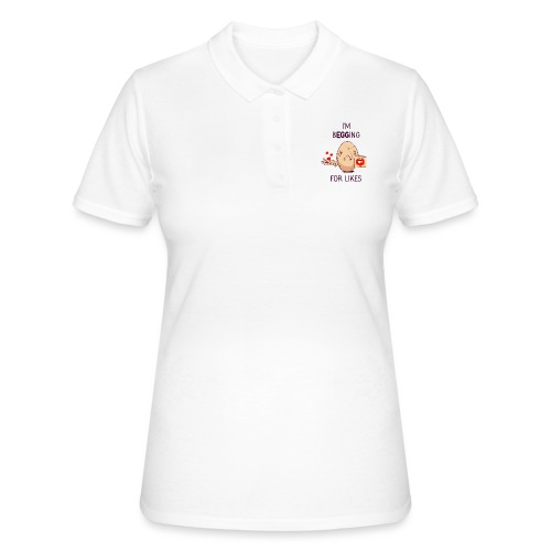 Begging Egg - Women's Polo Shirt