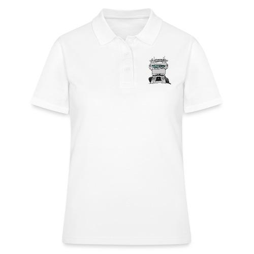 0813 R truck wit - Women's Polo Shirt