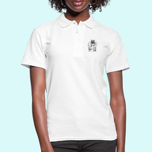 souris en colere - Women's Polo Shirt