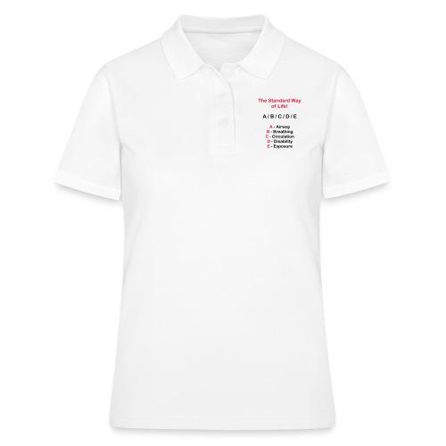 Rettungsdienst ABC Schema - Frauen Polo Shirt