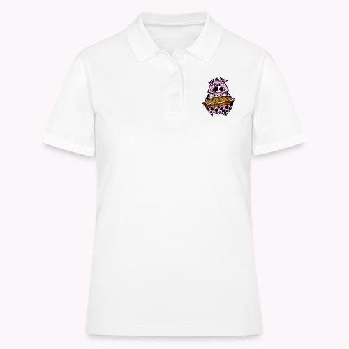 pig vs pig col - Women's Polo Shirt
