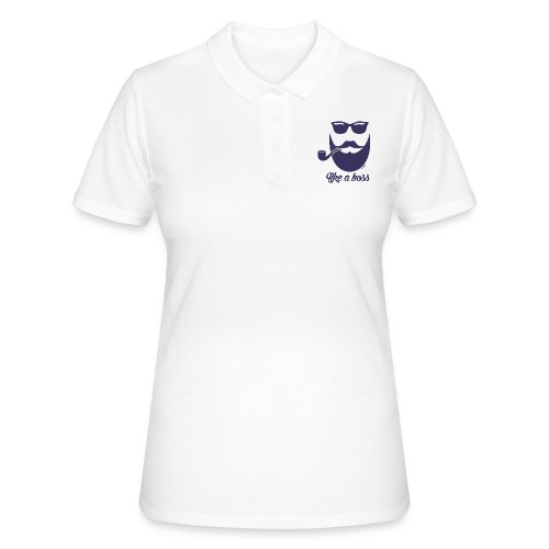 Comme un boss (H) - Women's Polo Shirt