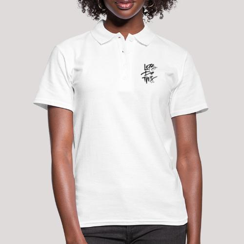 LDT Clear MASTER BLK - Women's Polo Shirt