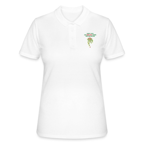 Under the mistletoe - Frauen Polo Shirt