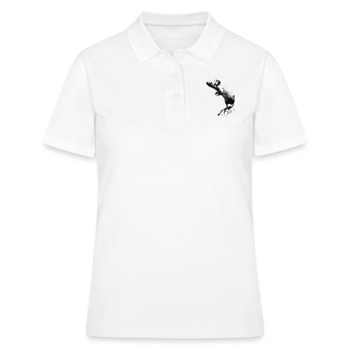 Seisova nakuhiiri - mustavalko - Women's Polo Shirt