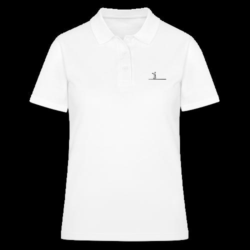 Möwe klein - Frauen Polo Shirt