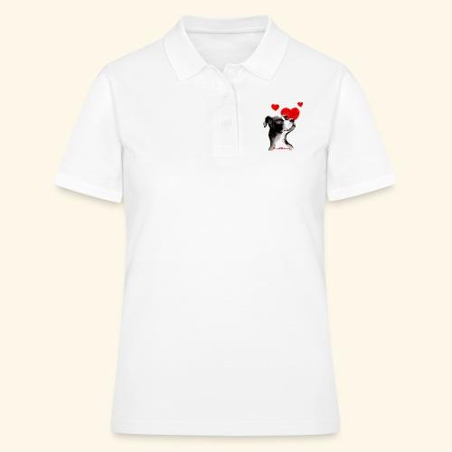 CANE CUORI trasparente - Women's Polo Shirt