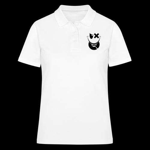 smiley acid techno vinyl - Women's Polo Shirt
