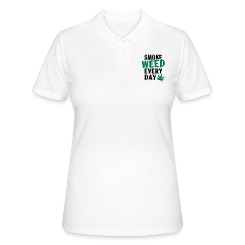Smoke Weed Everyday Linovert - Women's Polo Shirt