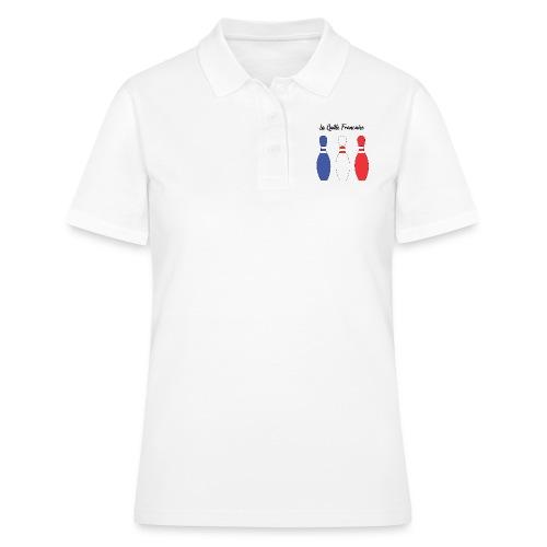 Les Quilles Françaises - Polo Femme