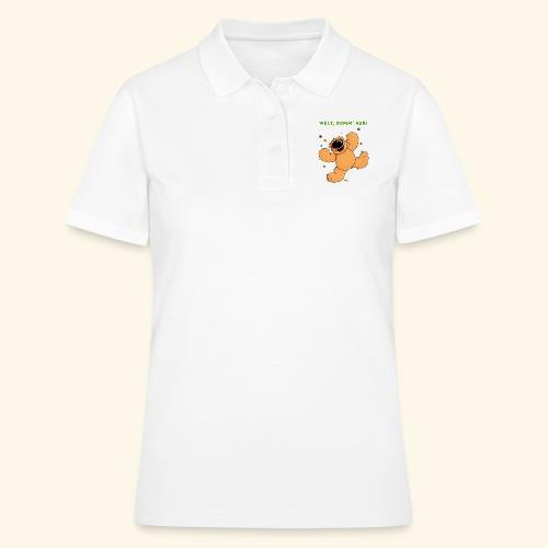 chris bears Welt lass Dich umarmen - Frauen Polo Shirt