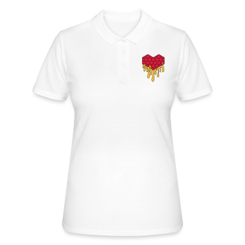 Honey heart cuore miele radeo - Women's Polo Shirt