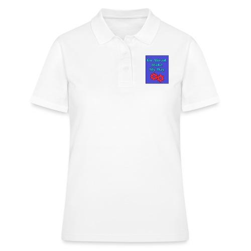 Maker Faire Saying - Women's Polo Shirt