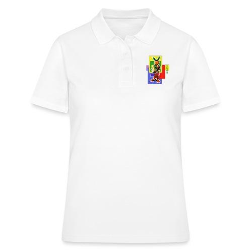 smARTkids - Slammin' Rabbit - Women's Polo Shirt