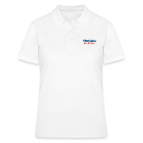 Paris Fashion Design Back - Women's Polo Shirt