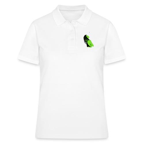 drawings of girl - Women's Polo Shirt