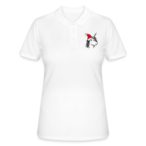 unicorno Natale - Women's Polo Shirt